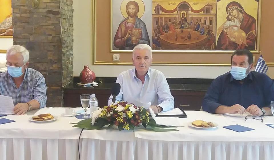 Σε ετήσιο απολογισμό της μέχρι στιγμής θητείας του, προχώρησε ο Δημαρχος Μετεώρων κ. Θοδωρής Αλέκος, σε συνέντευξη τύπου προς τα τοπικά ΜΜΕ