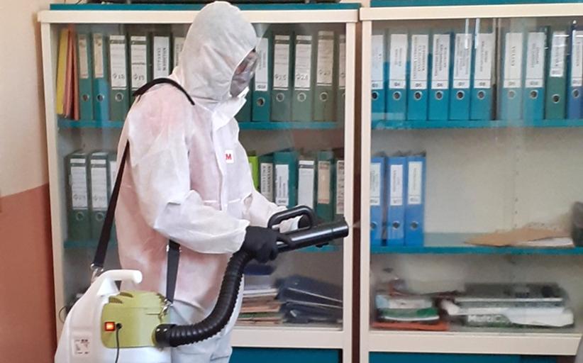 Περιβαλλοντικός καθαρισμός λόγω κρούσματος COVID-19 πραγματοποιήθηκε στο Δημοτικό Σχολείο Βασιλικής