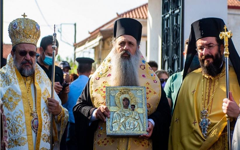Ο Σεβ.Μητροπολίτης Σταγών και Μετεώρων κ.Θεόκλητος στην Ιερά Μονή Κοιμήσεως της Θεοτόκου Βουλκάνου
