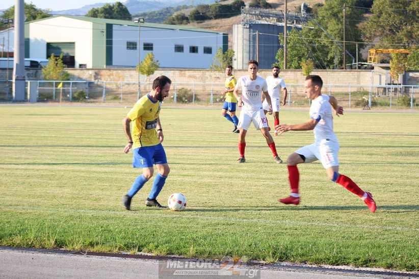 Δυνατή φιλική αναμέτρηση ανάμεσα σε Μετέωρα - ΑΟ Τρίκαλα 0-2 - Χρήσιμα συμπεράσματα για τους προπονητές
