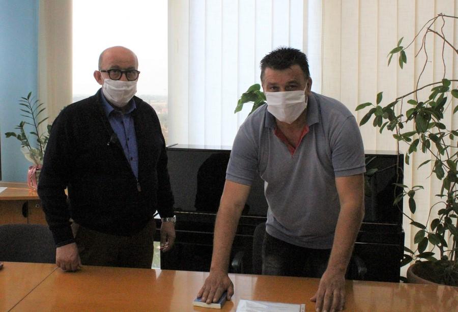 Ορκίστηκε ο νέος πρόεδρος κοινότητας Σερβωτών κ. Θωμάς Θωμόπουλος