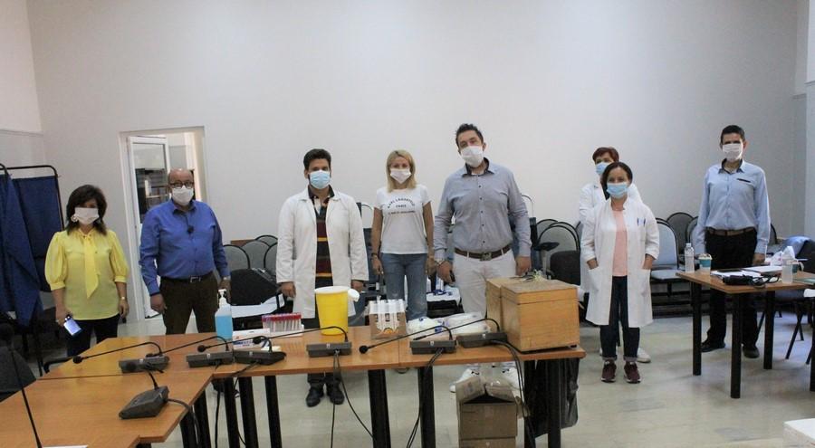 Πραγματοποιήθηκε εθελοντική αιμοδοσία στον Δήμο Φαρκαδόνας