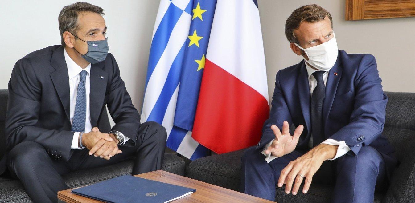 Κορσική: Ολοκληρώθηκε με απόλυτη συμφωνία η συνάντηση Μητσοτάκη-Μακρόν