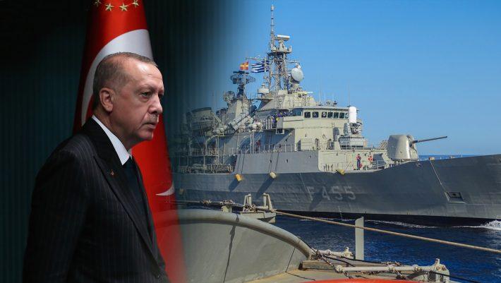 Επιμένει στο «βυθίστε τους»: Συναγερμός στον ελληνικό στρατό για τη νέα διαταγή Ερντογάν