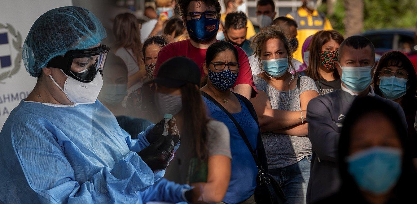 Κορονοϊός: 207 κρούσματα σε 24 ώρες - Πέντε νέοι θάνατοι στην Ελλάδα