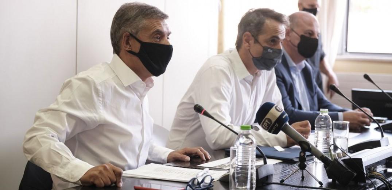 Κυρ. Μητσοτάκης: Να κινηθούν γρήγορα οι διαδικασίες αποζημίωσης και αποκατάστασης