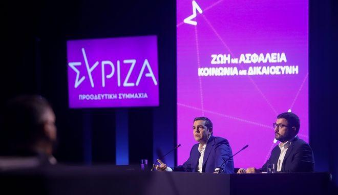 Αλέξης Τσίπρας: Κορμος της Δημοκρατικής Παράταξης ο ΣΥΡΙΖΑ - Προοδευτική Συμμαχία