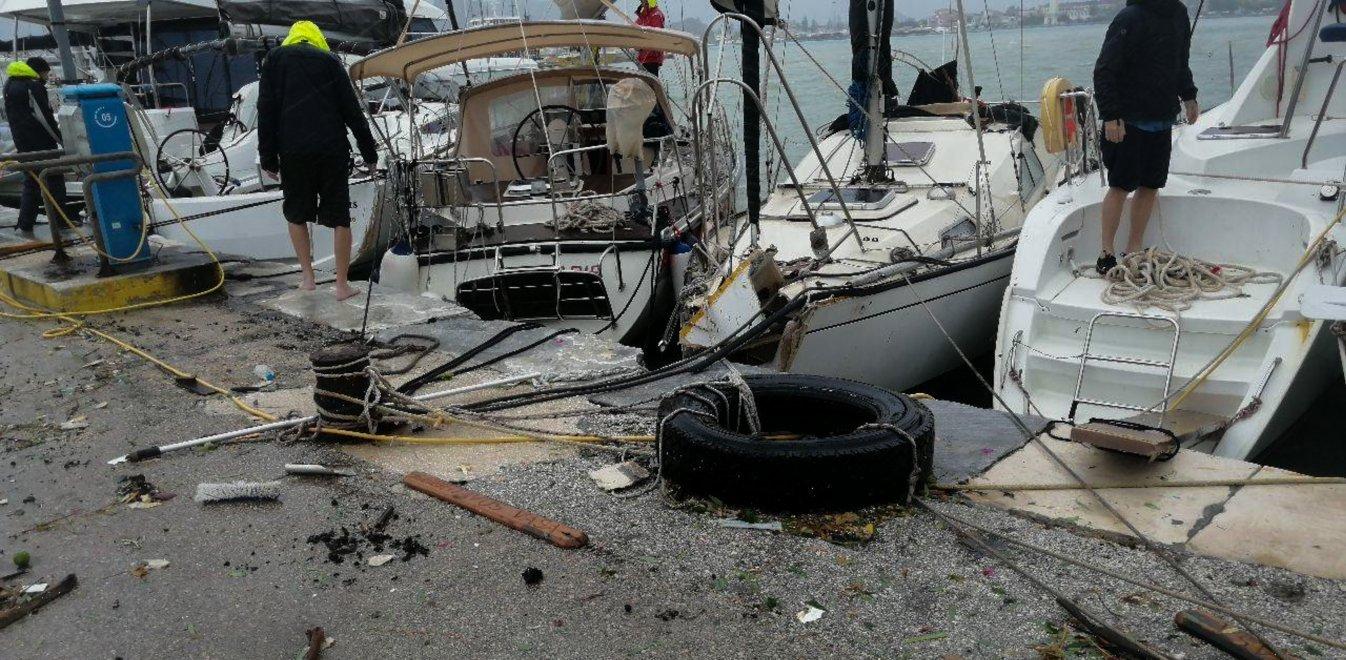 Ιανός: Καταστροφή στο Ιόνιο