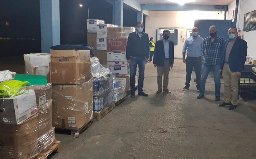 ΠΕ Θεσσαλίας: Τρόφιμα και είδη πρώτης ανάγκης στους πλημμυροπαθείς των Δήμων της Καρδίτσας
