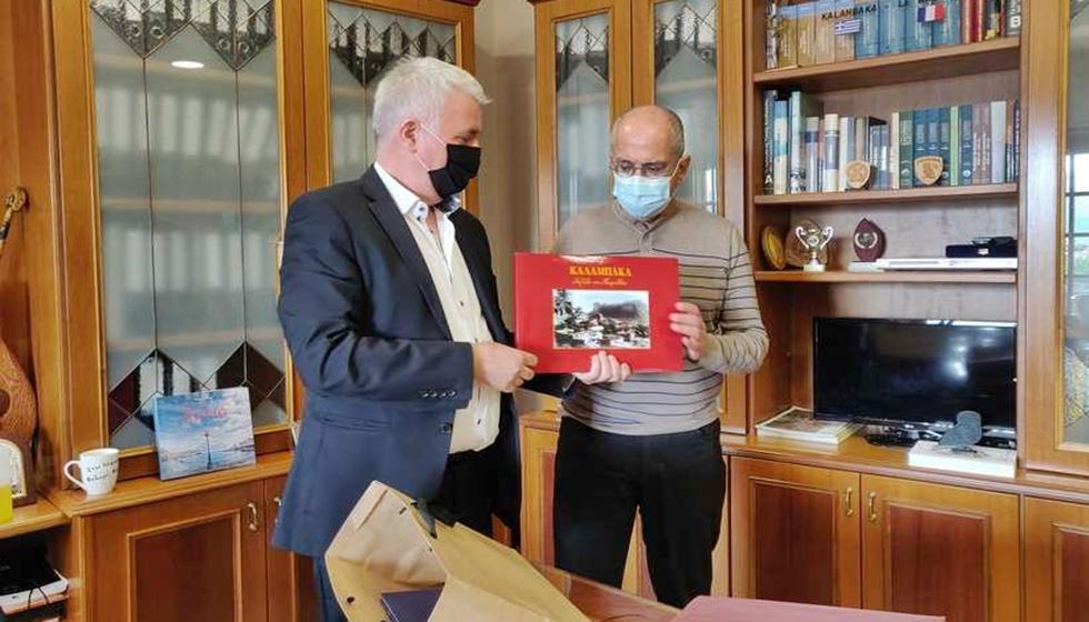 Επίσημη επίσκεψη του ισραηλινού πρέσβη στο Δήμο Μετεώρων