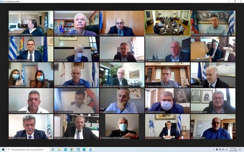 ΔΗΜΟΣ ΜΕΤΕΩΡΩΝ – ΕΛΛΑΔΑ 2021: Με επιτυχία πραγματοποιήθηκε η διαδικτυακή συνάντηση του Δημάρχου κ. Θ. Αλέκου