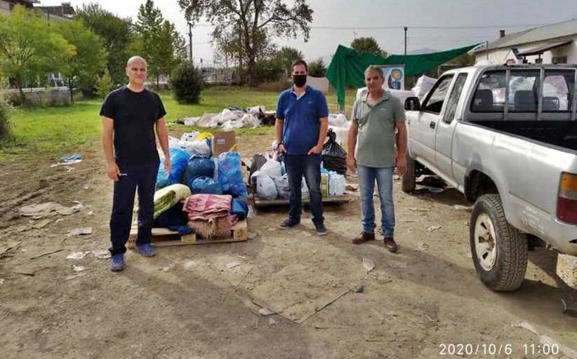 Παραδόθηκαν ειδή πρώτης ανάγκης στην Καρδίτσα από τους κατοίκους της Νέας Ζωής