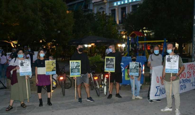 Καταδίκη των ναζιστών εγκληματιών από εκατοντάδες Τρικαλινούς