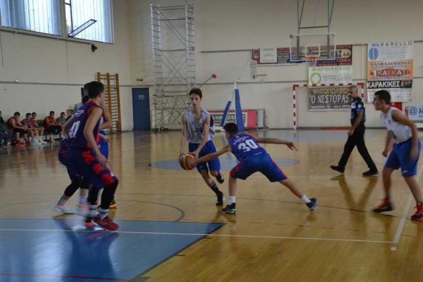 Παιδικό μπάσκετ: Δαναοί – Αίολος 60-65 (Φωτόγρφίες)