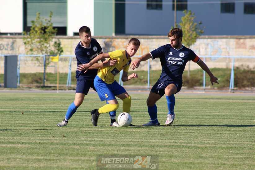 Φωτορεπορτάζ από τον αγώνα Μετέωρα - Σέλλανα 0-1