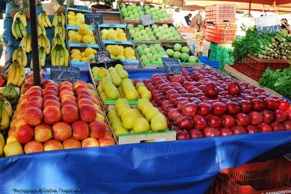 Πίνακες συμμετοχής πωλητών στη Λαϊκή Αγορά της Καλαμπάκας στις 30/10/2020