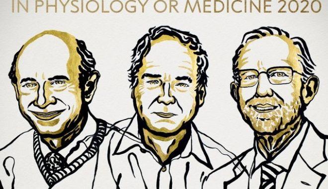 Στους Μάικλ Χόουτον, Χάρβεϊ Άλτερ και Τσαρλς Ράις απονέμεται το Νόμπελ Ιατρικής για το 2020.