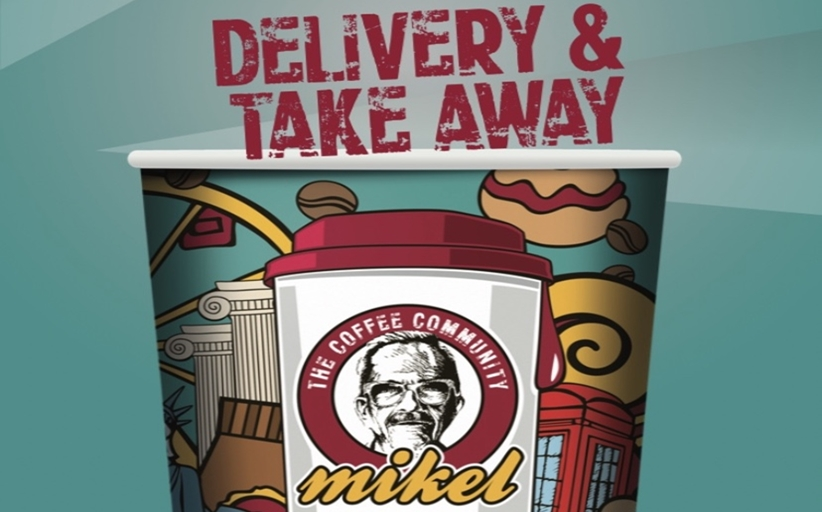 MIKEL COFFEE: TAKE AWAY & DELIVERY στο 24320 20043 !