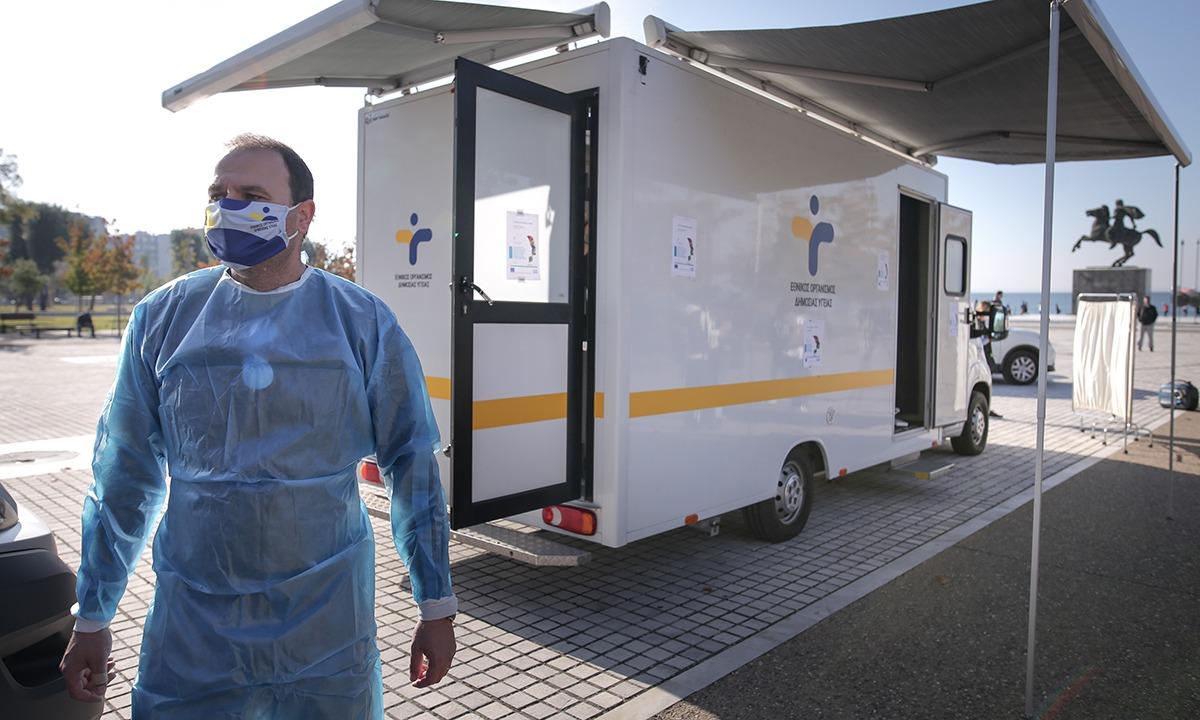 Κορονοϊός – Ελλάδα: 2.152 νέα κρούσματα - 87 θάνατοι – 600 οι διασωληνωμένοι