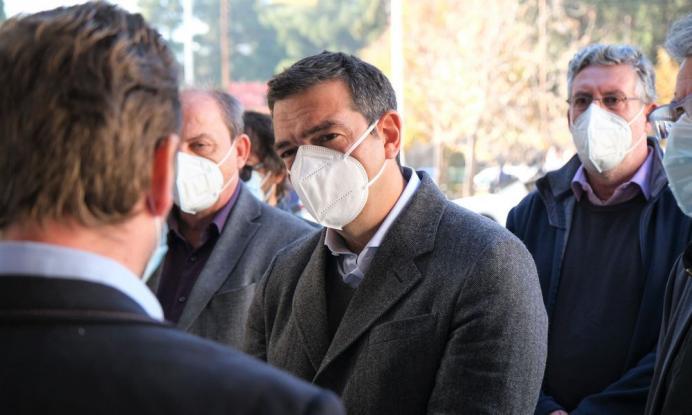 Τσίπρας από νοσοκομείο Δράμας: Εκτός ελέγχου η κατάσταση, τεράστιες ευθύνες για τις σκηνές βόρειας Ιταλίας