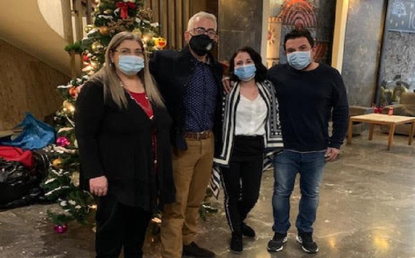 Στον Ξενώνα Μεταβατικής Φιλοξενίας Αστέγων Χρηστών,για τον εορτασμό των Χριστουγέννων, ο Πρόεδρος του ΚΕΘΕΑ, Χρίστος Λιάπης