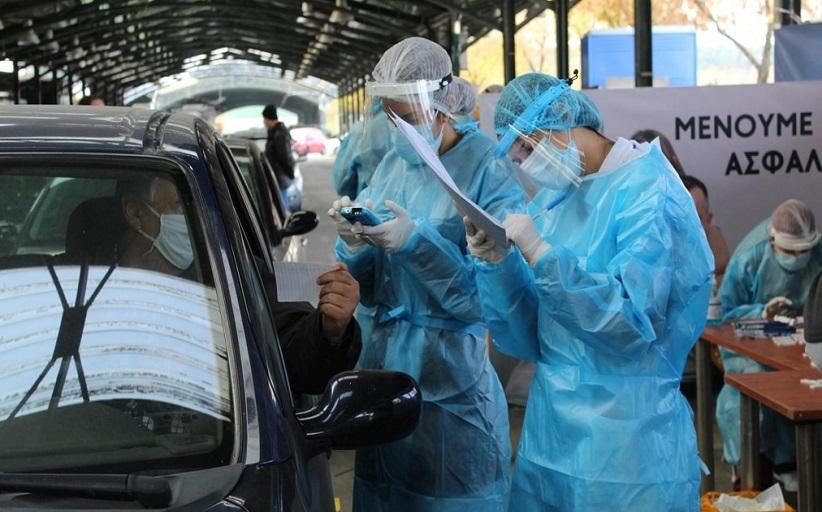 3 θετικά δείγματα σε 170 ελέγχους «drive through testing» στα Τρίκαλα