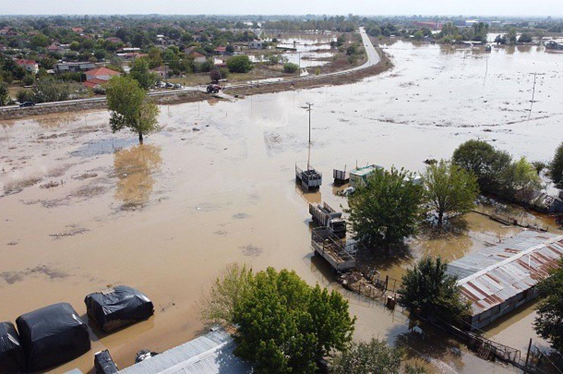 Αντιπλημμυρικά έργα ύψους 400 εκατ. στη Θεσσαλία και σε άλλες περιοχές της χώρας