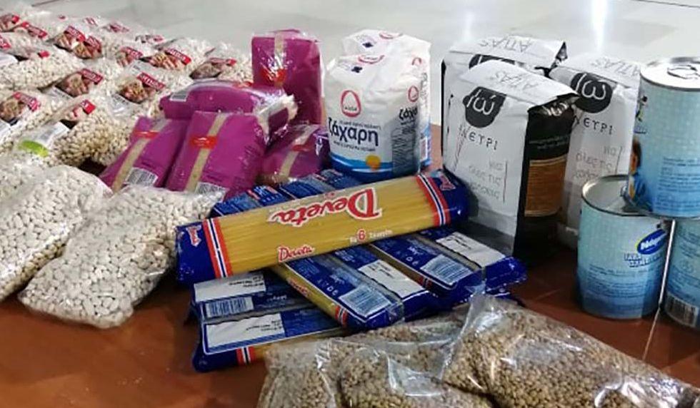 ΔΗΜΟΣ ΜΕΤΕΩΡΩΝ:  Διανομή προϊόντων παντοπωλείου στους δικαιούχους του ΚΕΑ