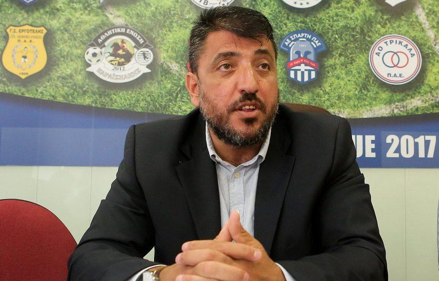 Συνέντευξη στη Ραδιοφωνική Λέσχη 97,6 έδωσε ο πρόεδρος της Ένωσης Super League 2