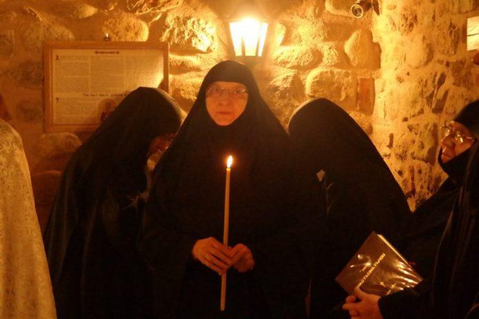 Συλλυπητήριο μήνυμα των κατοίκων Ξηροκάμπου για την κοίμηση της ηγουμένης της Ι.Μ. Ρουσάνου Μετεώρων