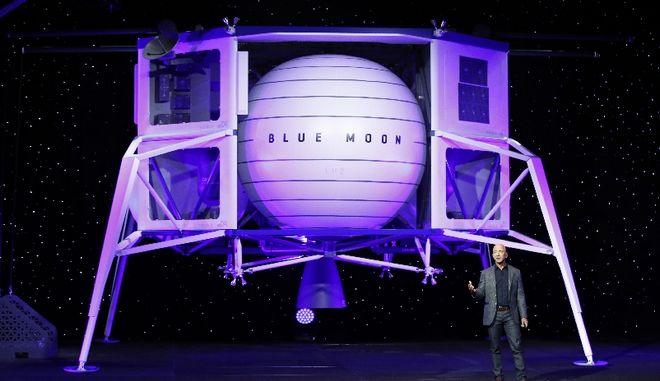 Η Blue Origin θα στείλει την πρώτη γυναίκα στη Σελήνη