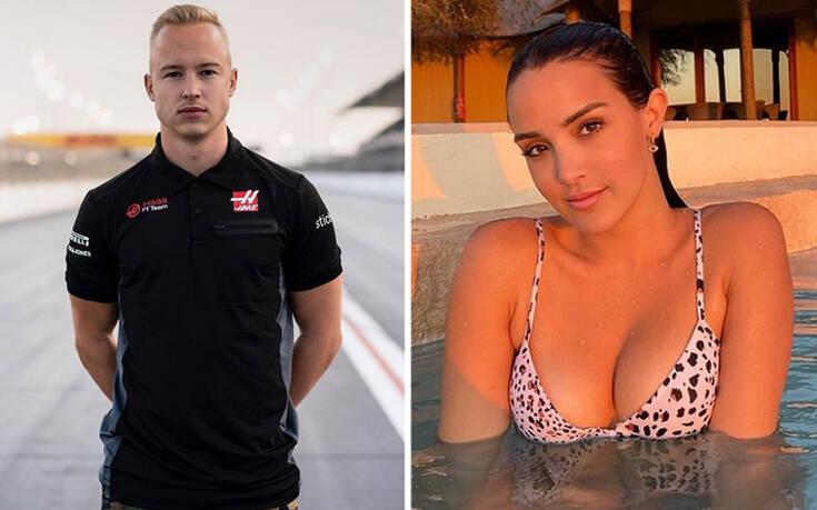 Χαμός με βίντεο πιλότου της Formula 1 που πιάνει το στήθος μοντέλου