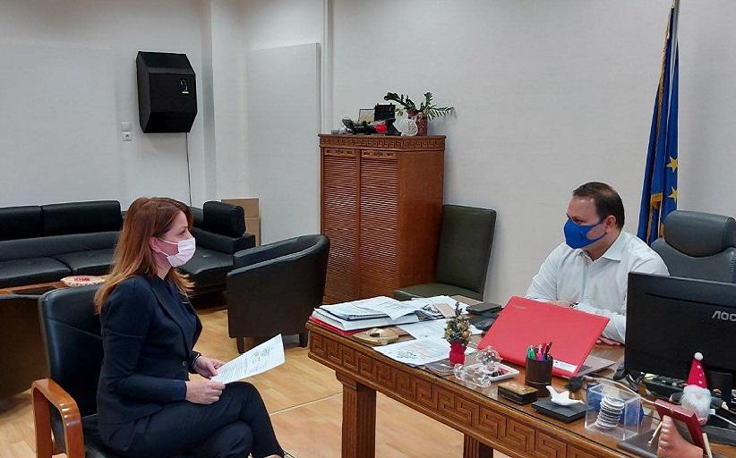 Κ. Παπακώστα: Συναντήσεις με αρμόδιους κυβερνητικούς Υπουργούς και παράγοντες