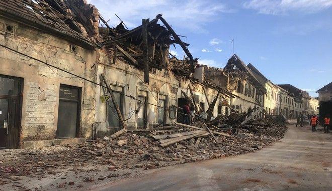 Κροατία: Ένα παιδί σκοτώθηκε από τον ισχυρό σεισμό - Πολλοί οι τραυματίες