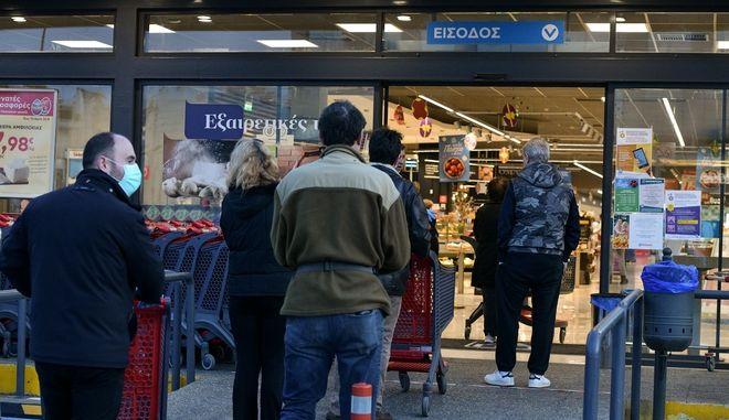 Σούπερ μάρκετ - καταστήματα: Το ωράριο λειτουργίας μέχρι την Πρωτοχρονιά