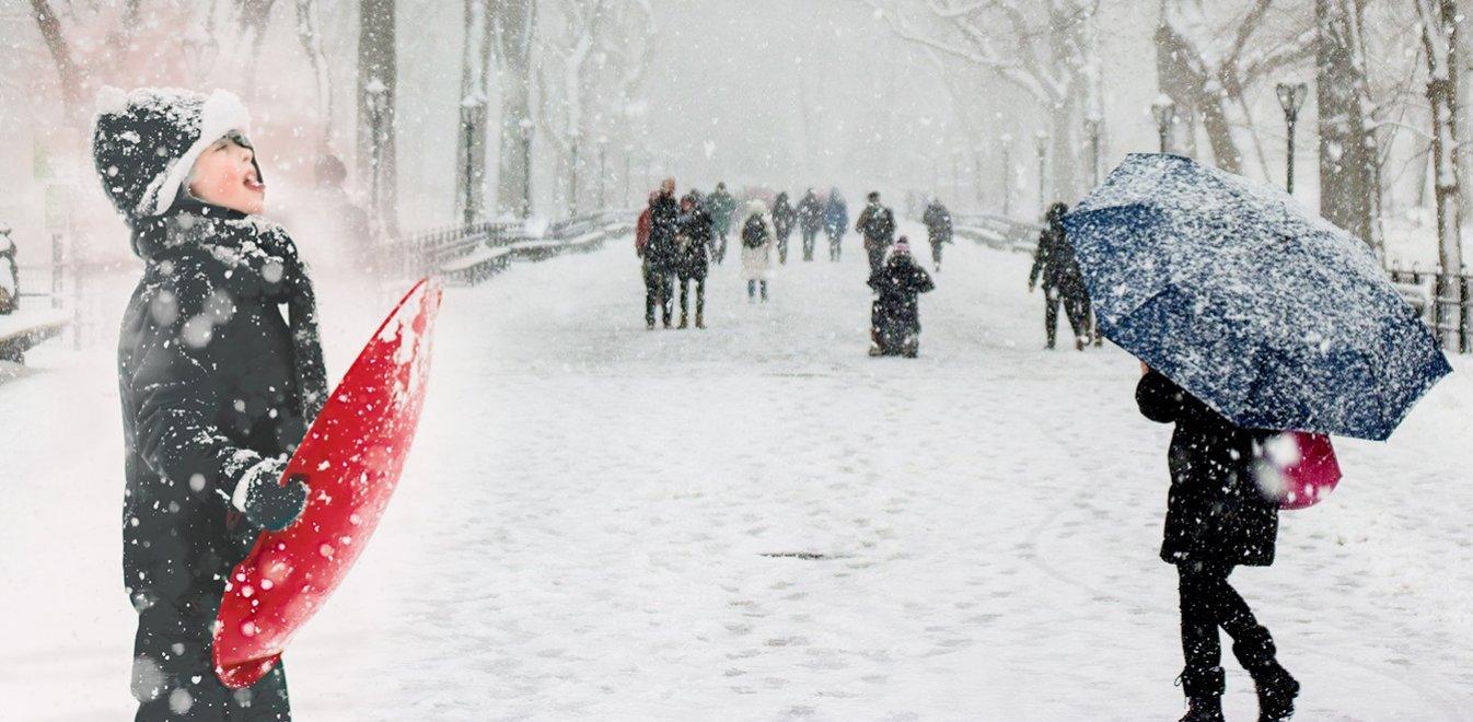 Καιρός: Χιόνια την Πρωτοχρονιά, λιακάδα τα Χριστούγεννα