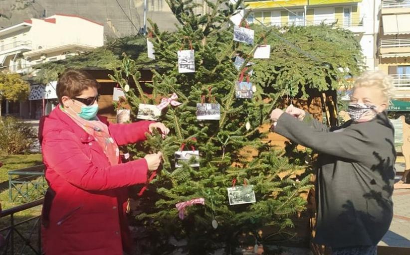 Στόλισε το δέντρο στην πλατεία Δημουλά, ο Σύλλογος Καλαμπάκας