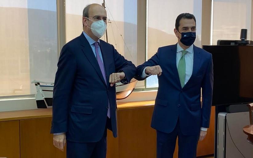 Ορκίσθηκε Υπουργός Περιβάλλοντος και Ενέργειας ο Κώστας Σκρέκας