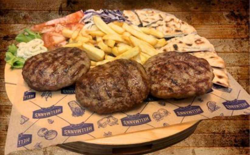 Food Factory: Ζουμερό μπιφτέκι από 100% μοσχαρίσιο κιμά Black Angus!