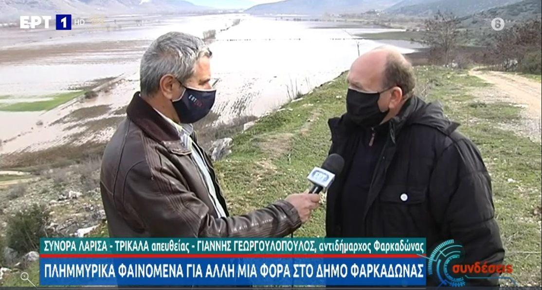 Ο Αντιδήμαρχος κ. Γεωργολόπουλος στην ΕΡΤ