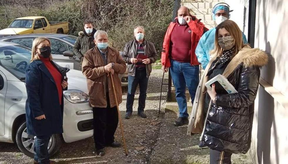 Rapid tests στην Κοινότητα Αμπελίων από τον Δήμο Μετεώρων και τον ΕΟΔΥ