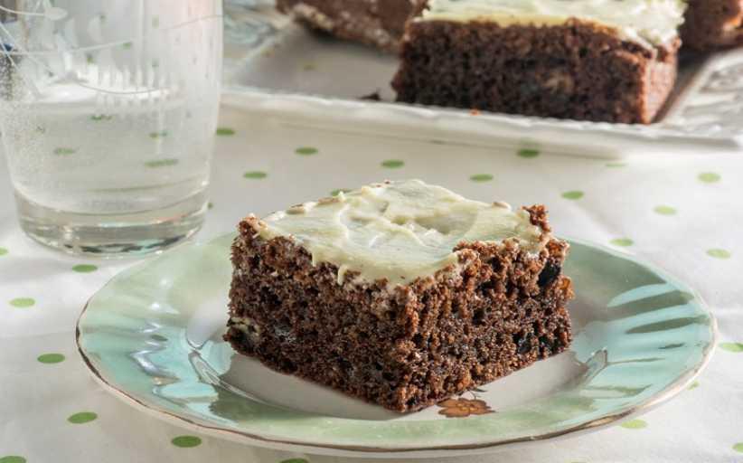 Κέικ με Δύο σοκολάτες