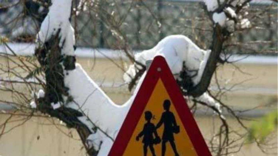 Στις 9:30 η προσέλευση μαθητών τη Δευτέρα 18/01/2021 λόγω παγετού...