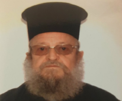 Απεβίωσε ο Ιερέας Κωνσταντίνος Μπατζογιάννης