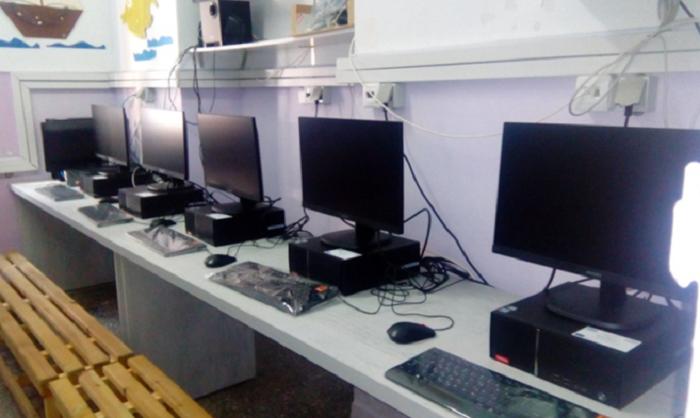 Αποπεράτωση του εργαστηρίου πληροφορικής του σχολείου μας