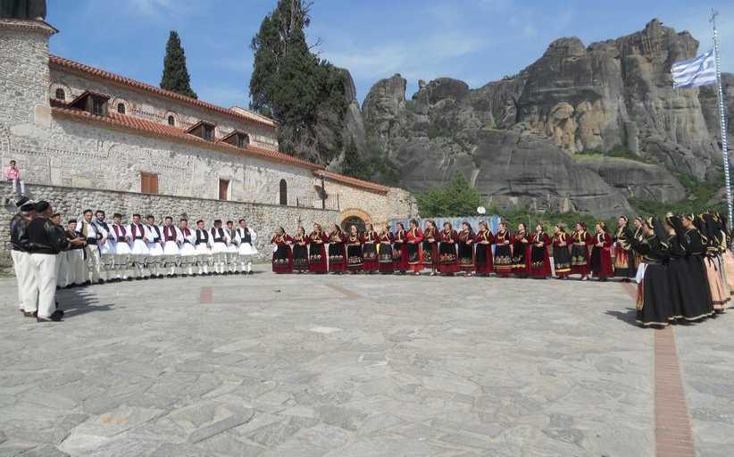 34η Ετήσια Βασιλόπιτα  Χορευτικού Ομίλου Καλαμπάκας ''ΜΕΤΕΩΡΑ