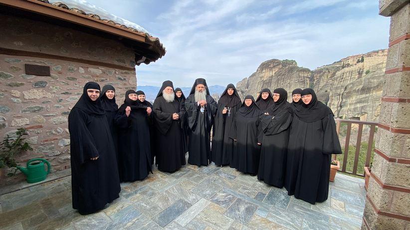 Ανάδειξη νέας Hγουμένης στη Ιερά Μονή Ρουσάνου Μετεώρων