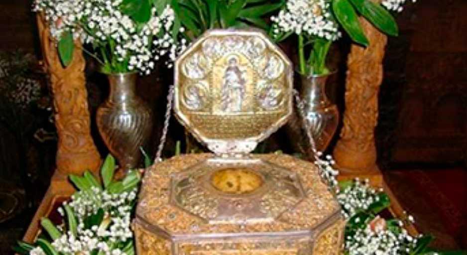Η τιμία Κάρα του Αγίου Χαραλάμπους στην πόλη της Καλαμπάκας