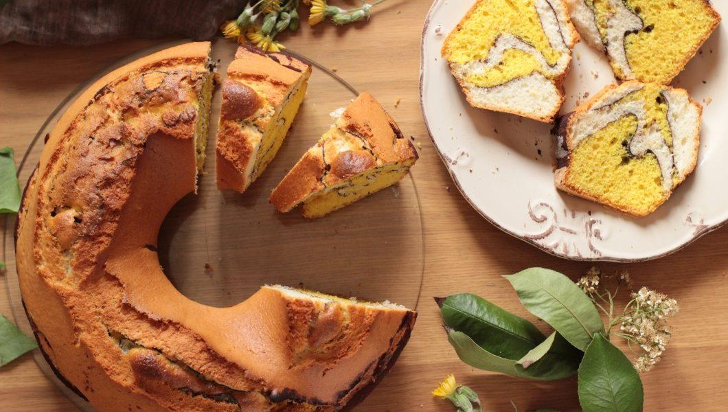 Απολαυστικό κέικ «καμηλοπάρδαλη»!