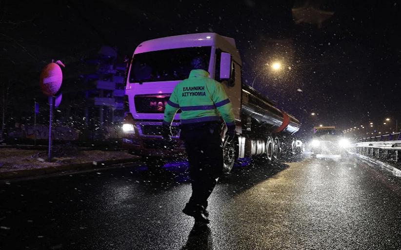 Μήδεια: Έκλεισε η Εθνική Οδός Αθηνών – Λαμίας